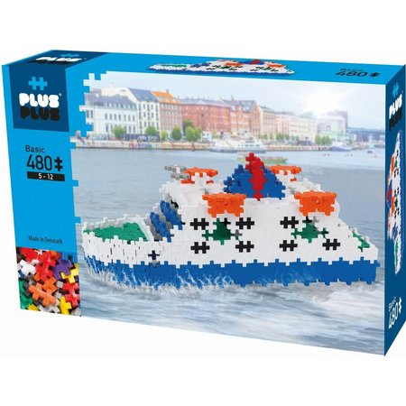 PLUS PLUS BOX  MINI  BASIC 480PCS FERRY