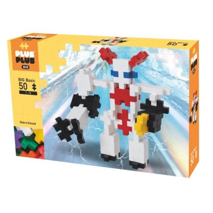 PLUS PLUS BIG BASIC BOX 50 PCS ROBOTS