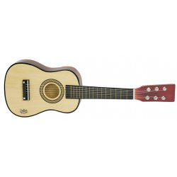 GUITARE EN BOIS NATUREL