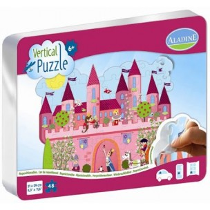 VERTICAL PUZZLE REPOSITIONABLE  CHATEAU