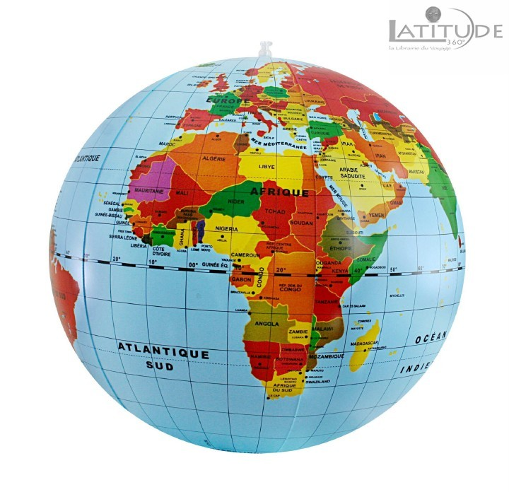 MAXI GLOBE GONFLABLE