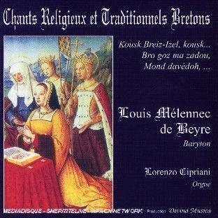 CD CHANTS RELIGIEUX ET TRADITIONNELS BRETONS