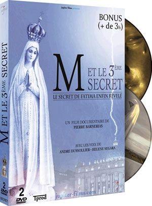 M ET LE 3EME SECRET : LE SECRET DE FATIMA ENFIN REVELE / COFFRET 2 DVD