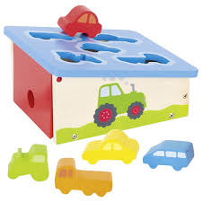 BOITE A FORMES VEHICULES