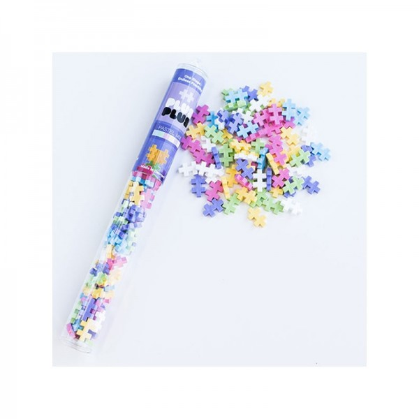 PLUS PLUS TUBE 100 PCS PASTEL MIX