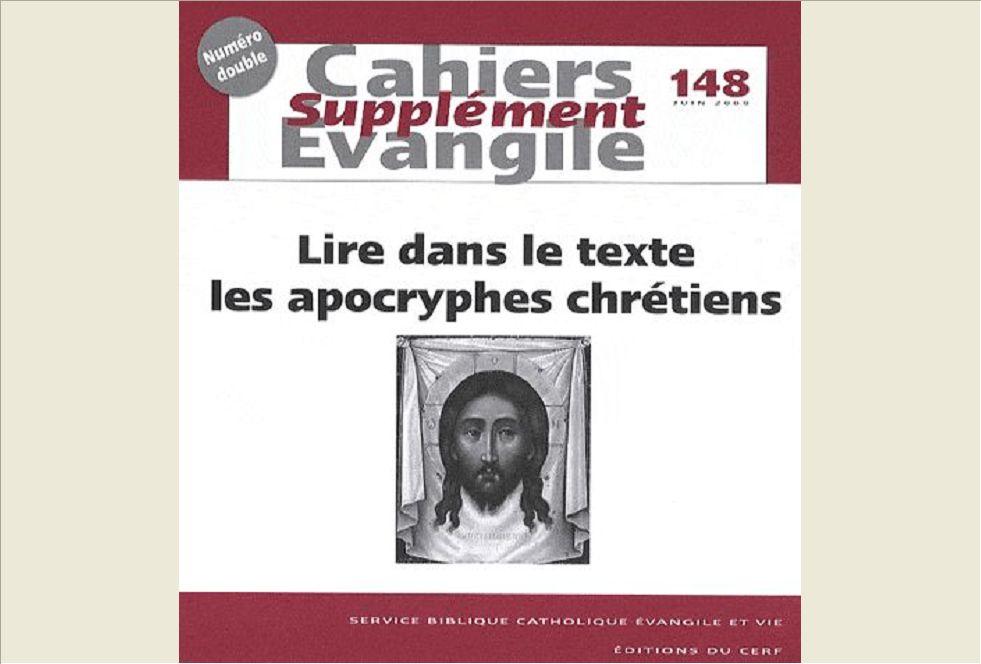 SCE-148 LIRE DANS LE TEXTE LES APOCRYPHES CHRETIENS