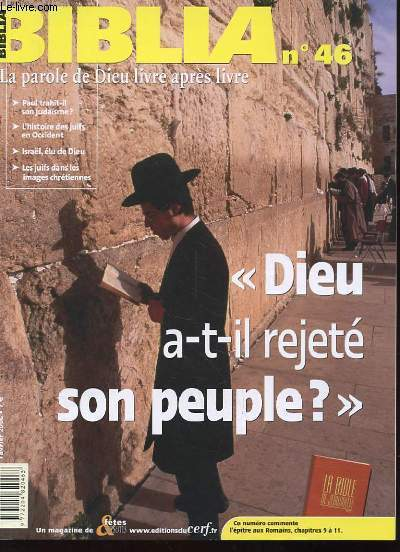 DIEU A-T-IL REJETE SON PEUPLE? BIB 46