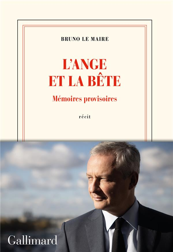 L'ANGE ET LA BETE - MEMOIRES PROVISOIRES