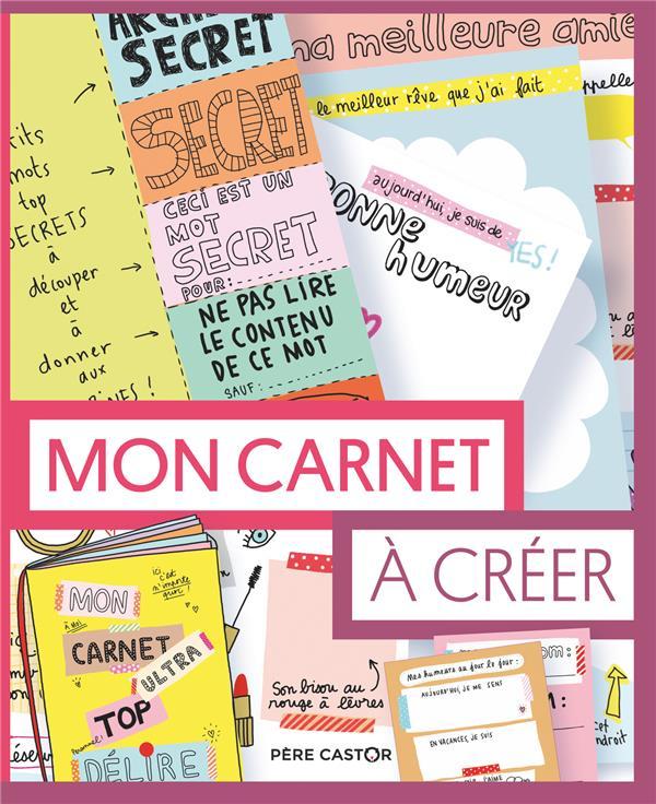 MON CARNET A CREER