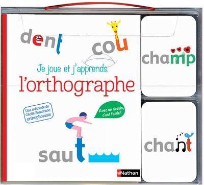 JE JOUE ET J'APPRENDS L'ORTHOGRAPHE