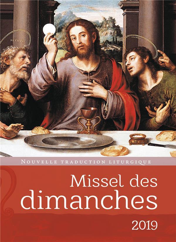 MISSEL DES DIMANCHES 2019
