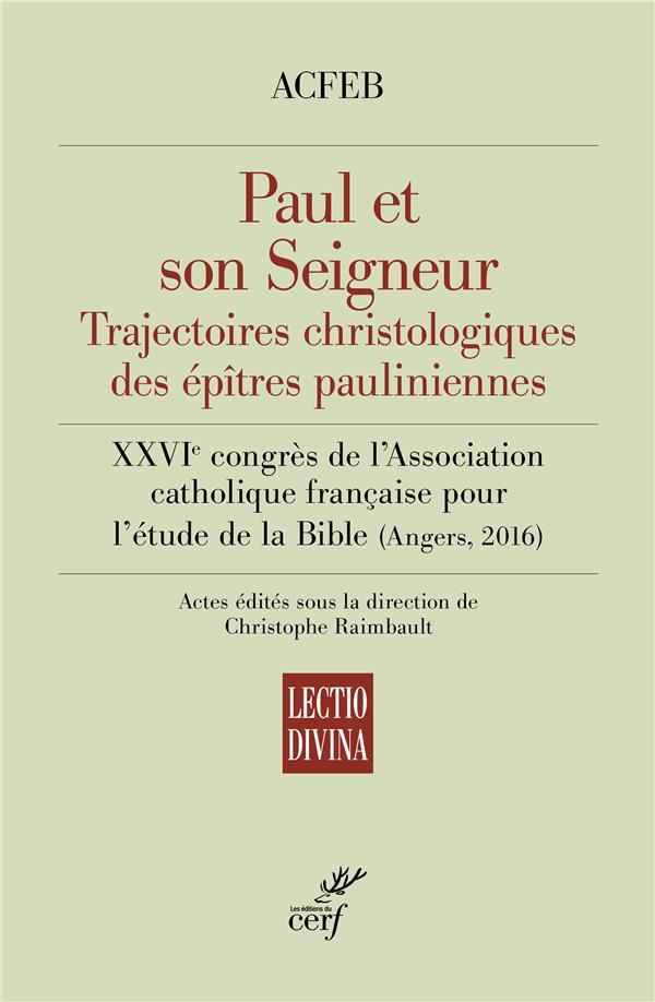 PAUL ET SON SEIGNEUR