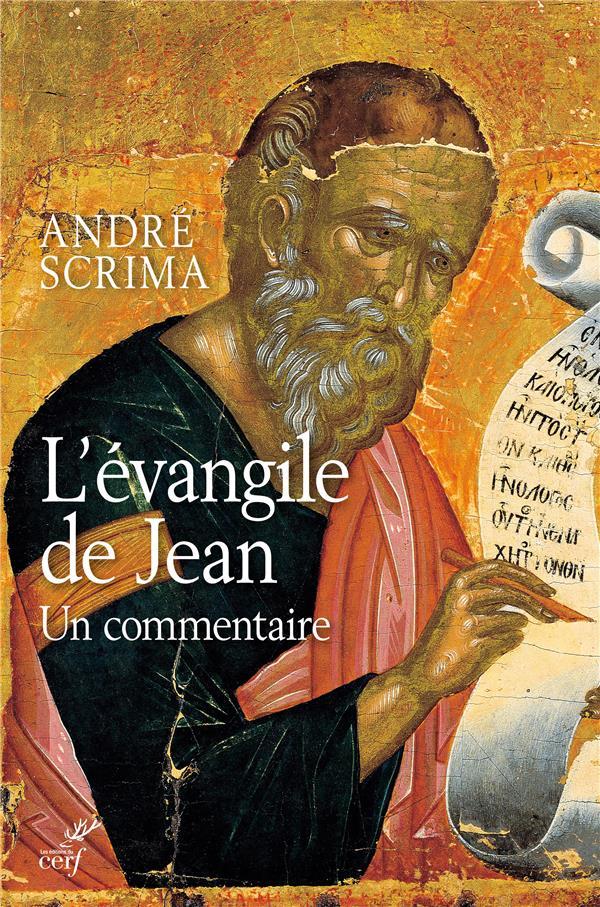 COMMENTAIRE DE L'EVANGILE DE JEAN