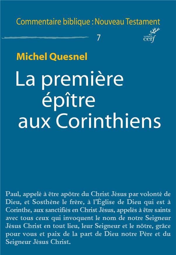 LA PREMIERE EPITRE AUX CORINTHIENS