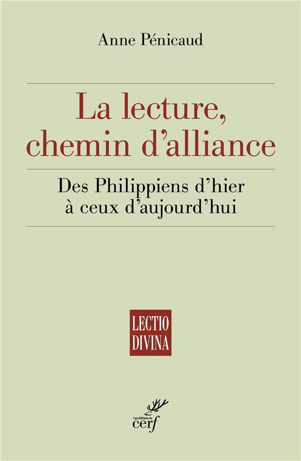 LA LECTURE, CHEMIN D'ALLIANCE