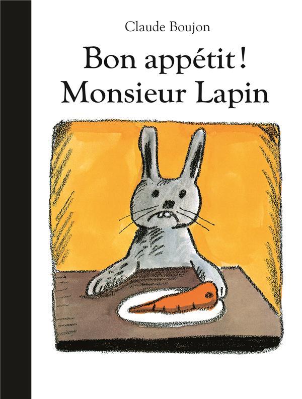 BON APPETIT MONSIEUR LAPIN-BIBLIO (NE)