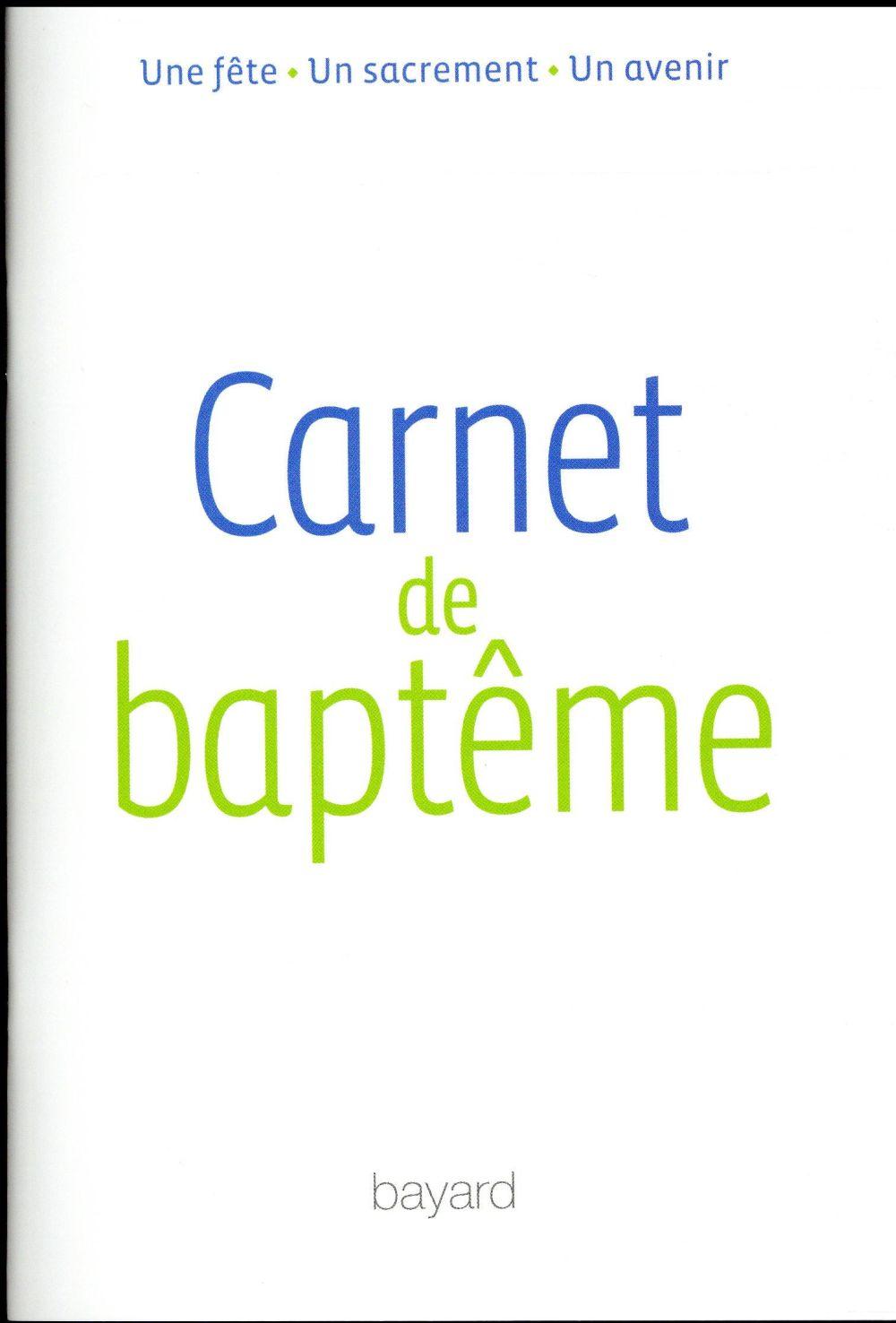 CARNET DE BAPTEME
