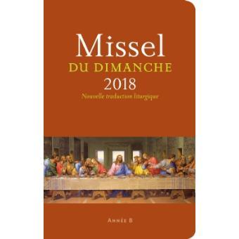 MISSEL DU DIMANCHE 2018