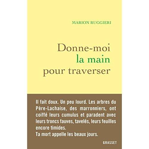 DONNE-MOI LA MAIN POUR TRAVERSER