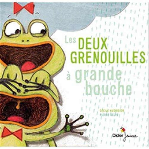 LES DEUX GRENOUILLES A GRANDE BOUCHE
