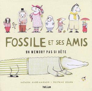 MEMORY DE FOSSILE LE CROCODILE ET SES AMIS
