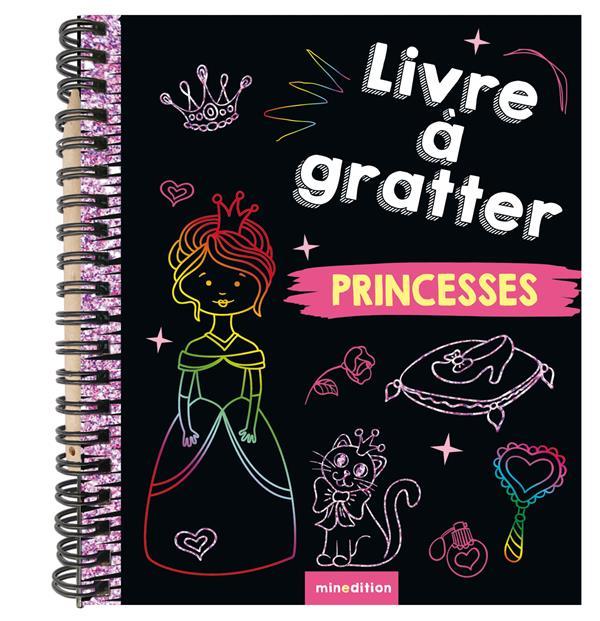LIVRE A GRATTER PRINCESSES (MINI-LIVRE)