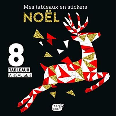 MES TABLEAUX EN STICKERS - NOEL