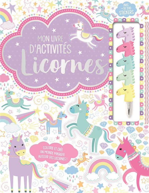 MON LIVRE D'ACTIVITES - LICORNES