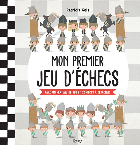 MON PREMIER JEU D'ECHECS - AVEC UN PLATEAU DE JEU ET 32 PIECES A DETACHER