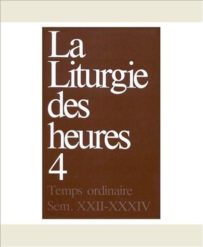 LITURGIE DES HEURES - CAREME TEMPS PASCAL TOME 2