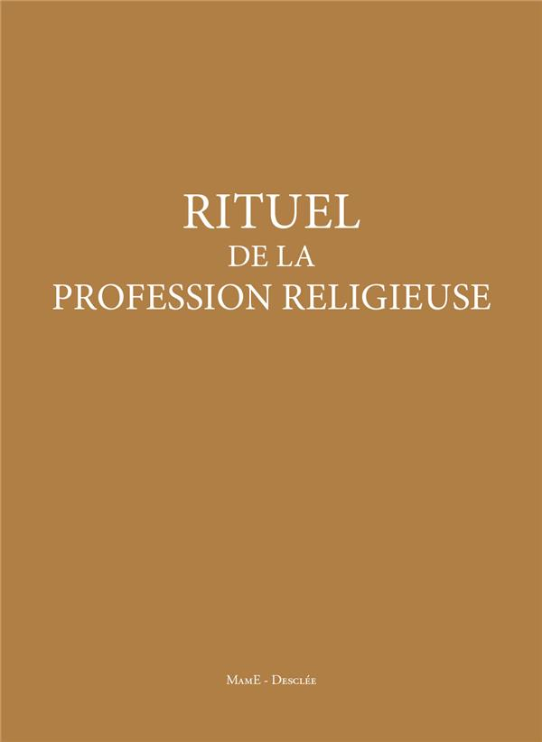 RITUEL PROFESSION RELIGIEUSE