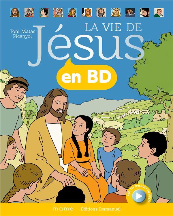 LA VIE DE JESUS EN BD - RELIE