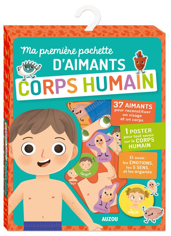 MA PREMIERE POCHETTE D'AIMANTS CORPS HUMAIN
