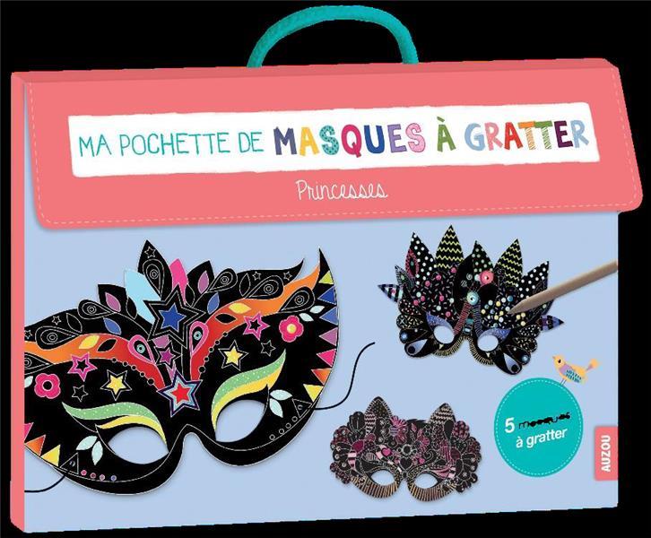 MA POCHETTE DE MASQUES A GRATTER - PRINCESSES
