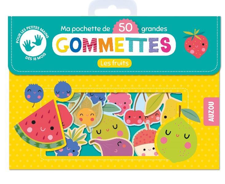 MES 50 GRANDES GOMMETTES - LES FRUITS