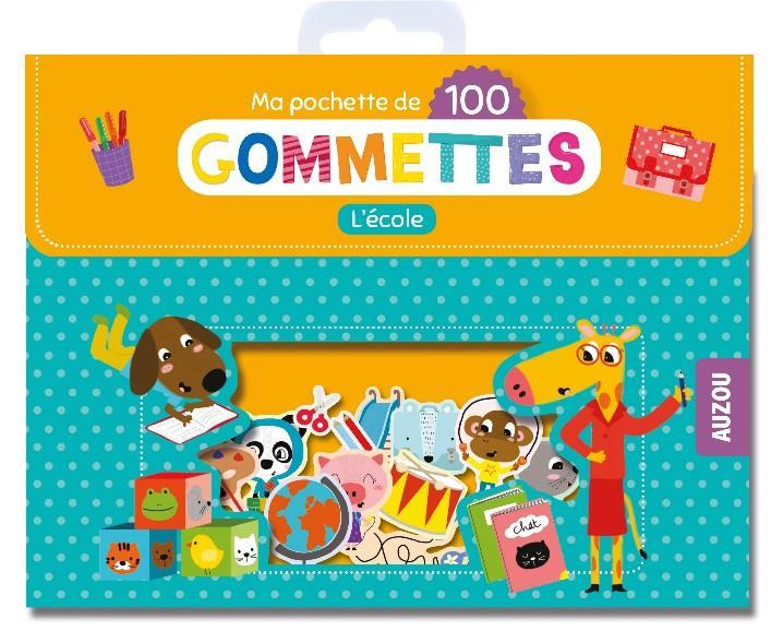 MES 100 GOMMETTES - L'ECOLE