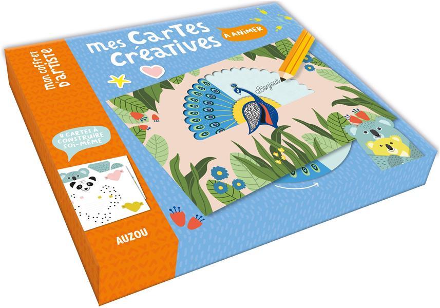MON COFFRET D'ARTISTE - MES CARTES CREATIVES A ANIMER