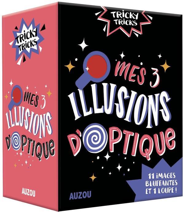 TRICKY TRICKS - MES TROIS ILLUSIONS D'OPTIQUE