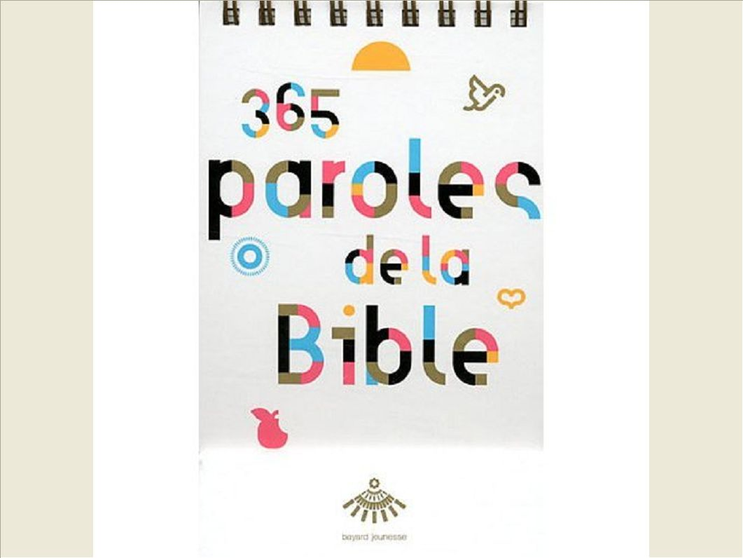 365 PAROLES DE LA BIBLE