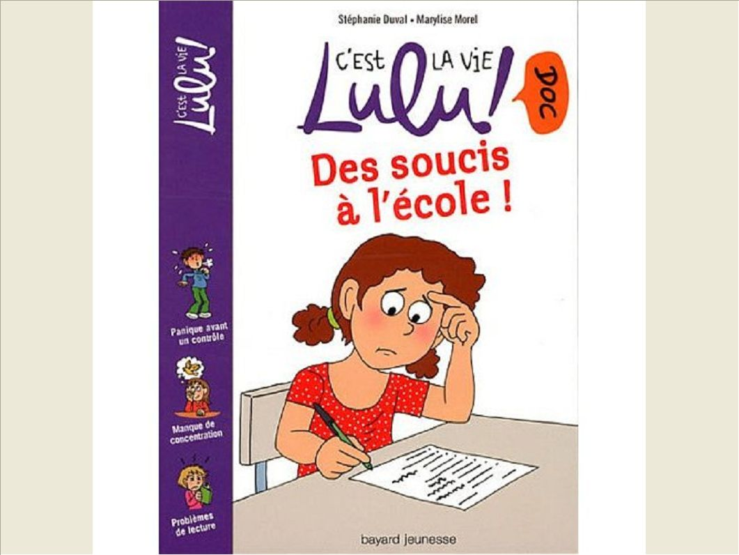 DES SOUCIS A L'ECOLE ! - N13