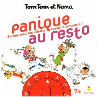JEU TOM-TOM ET NANA - PANIQUE AU RESTO