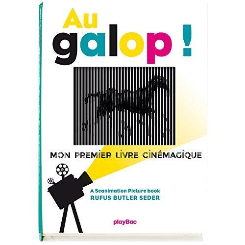 AU GALOP ! MON PREMIER LIVRE CINEMAGIQUE