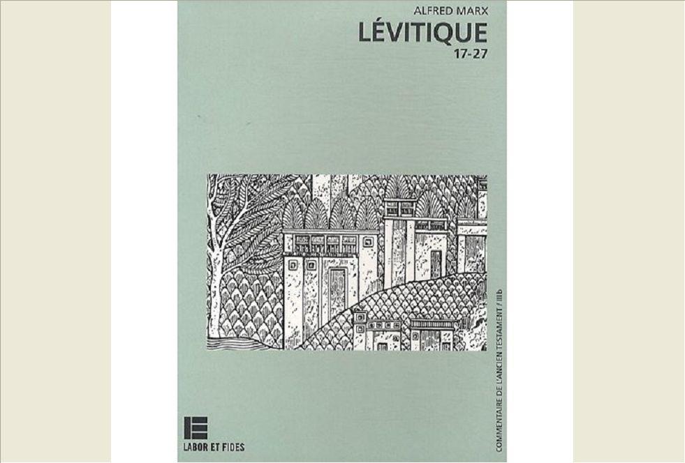 LEVITIQUE 17-27