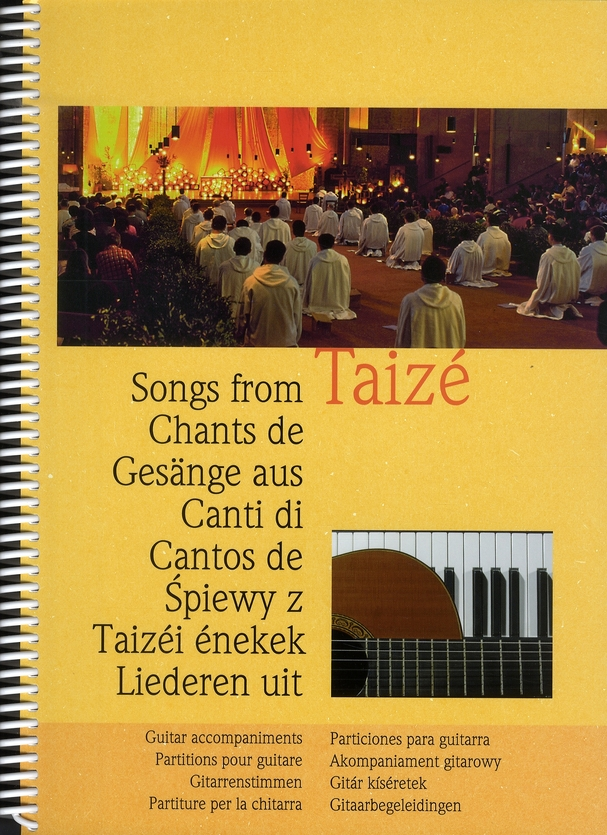 CHANTS DE TAIZE : PARTITIONS POUR GUITARE