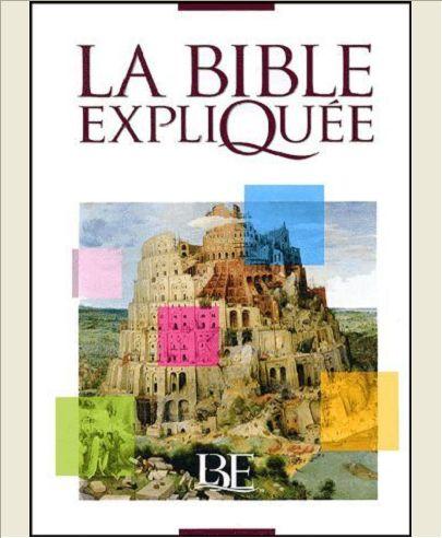 LA BIBLE EXPLIQUEE AVEC DEUTEROCANONIQUES FRANCAIS COURANT