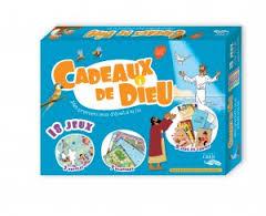 CADEAUX DE DIEU - BOITE DE 18 JEUX - EDITIONS CRER