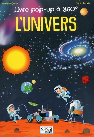 LIVRE POP-UP A 360  - L'UNIVERS