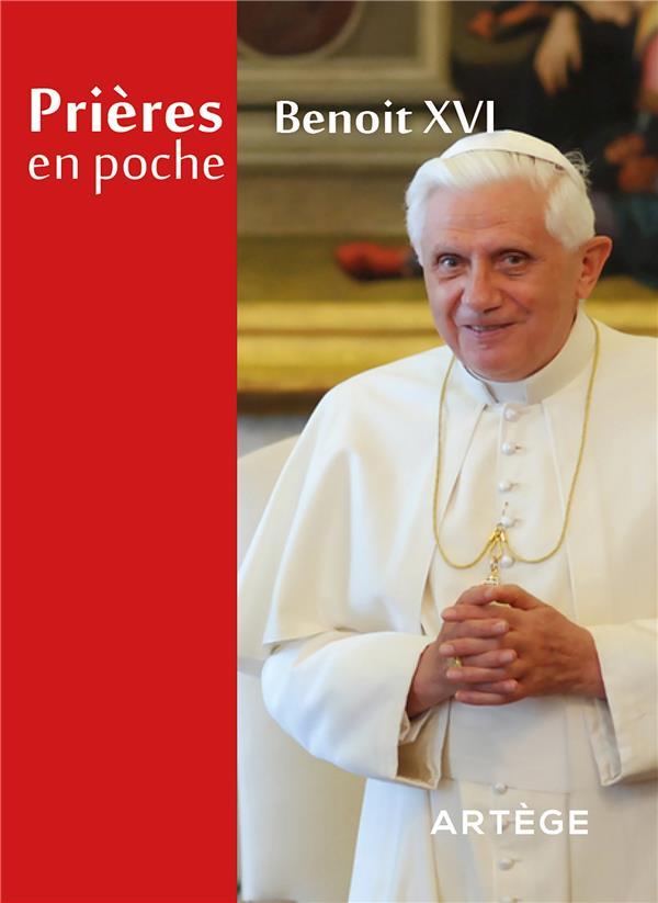 PRIERES EN POCHE - BENOIT XVI