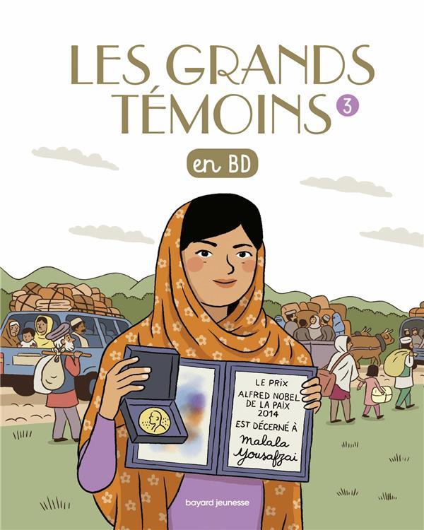 LES GRANDS TEMOINS, TOME 03 - LES GRANDS TEMOINS EN BD