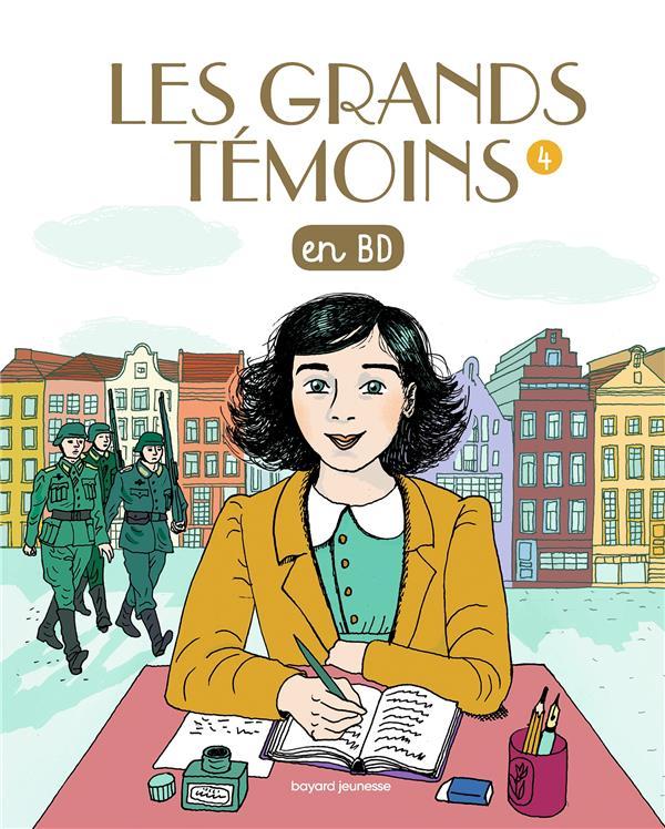 LES GRANDS TEMOINS EN BD , TOME 04 - LES GRANDS TEMOINS EN BD - 14 FEMMES D'EXCEPTION
